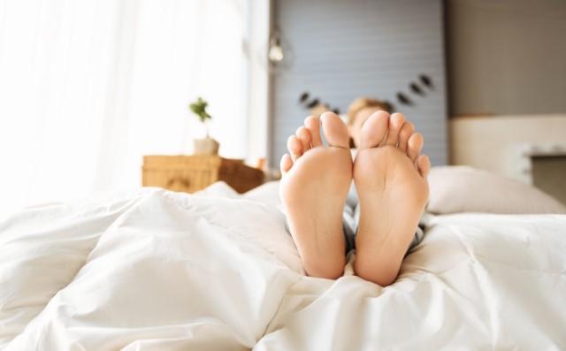 sleep and heel pain