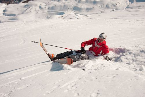 Skier's toe is a treatable injury