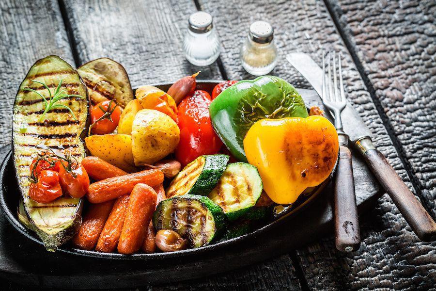 Diabetic-friendly veggie barbecue