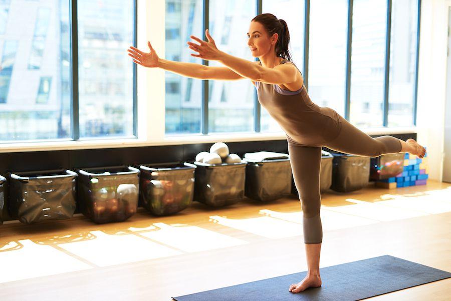 Balance training for athletes