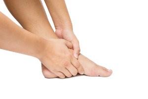 Cramping foot