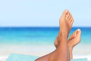 clear toenails