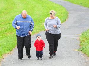Obesity harms feet