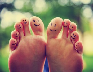 Keeping your toes happy