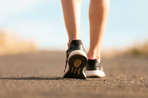 Flat feet and running