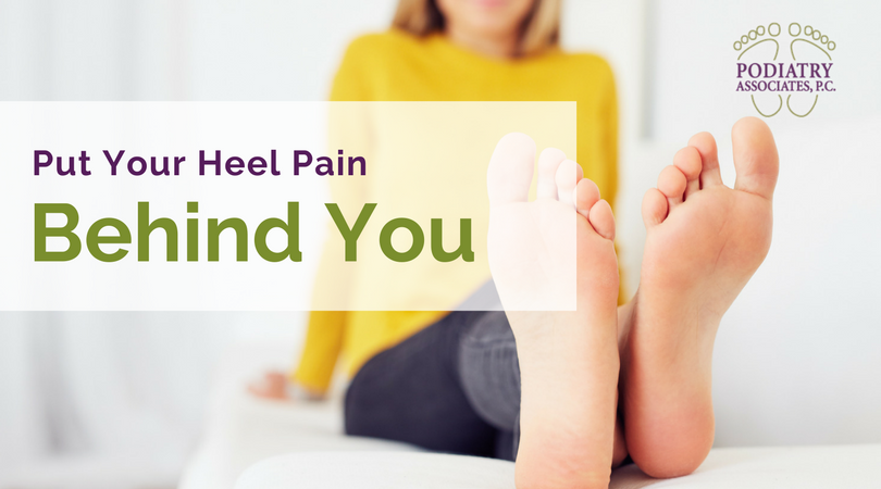 Put your heel pain behind you