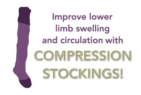 Improve your circulation with compression stockings