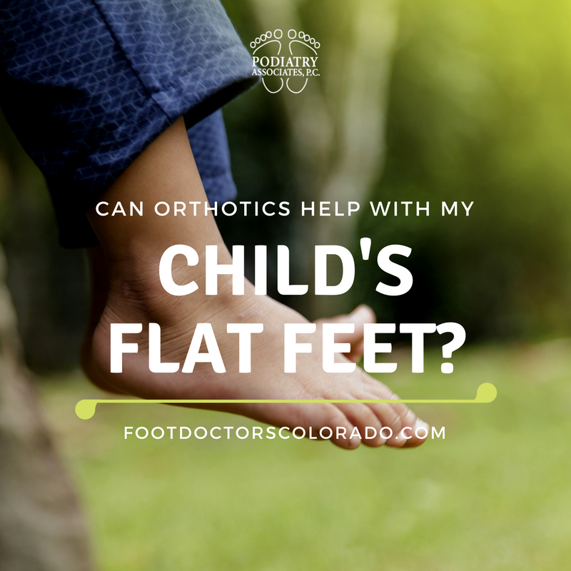 Child's Flat Feet