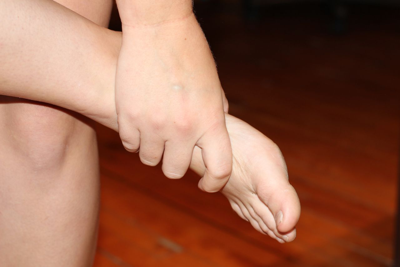 Foot Pain with Diabetic Wounds