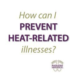 Learn heat-related illnesses when temperatures are soaring