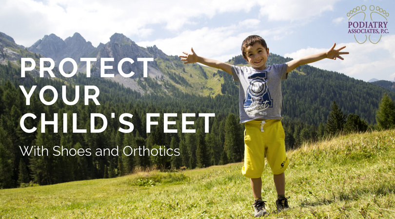 Protect Your Child's Feet