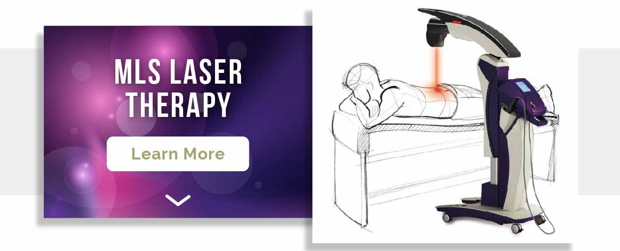 Stop foot and ankle pain with laser therapy