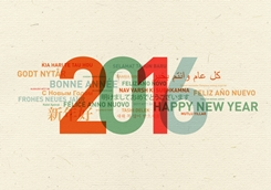 2016 Holiday Greetings in Multiple Languages