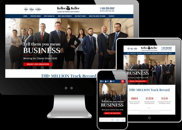 Keller & Keller Website