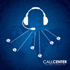 Call Center Information Graphic