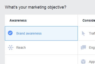 Begin by deciding on your marketing objective