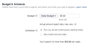 Allocating the budget and schedule for your advertising
