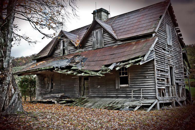 Crumbling Farm House