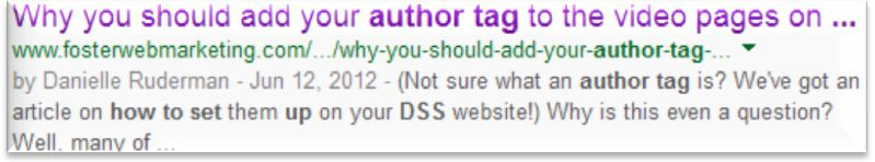 Author tag example...no more picture