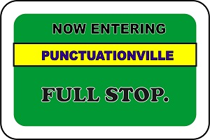 Full Stop Punctuationville: All About the Period