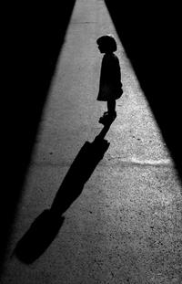 Girl in the Shadows