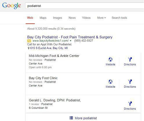 Google's new local results: a gold mine for the top three, but rubble for everyone else.