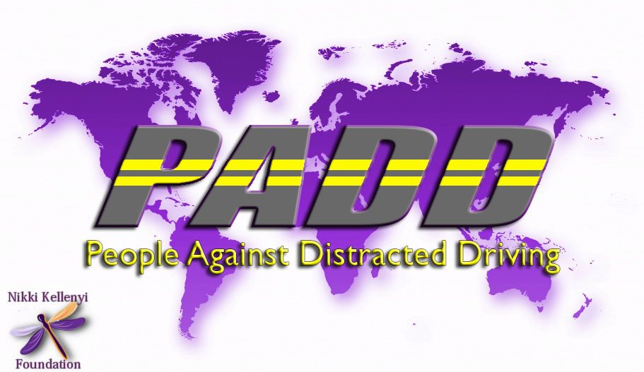 People Against Distracted Driving Logo