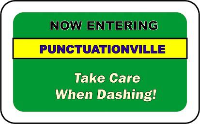 Use dashes carefully when punctuating website content