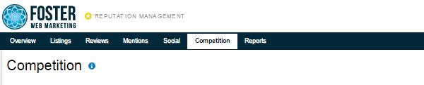 Reputation Management Competition Tab Screenshot