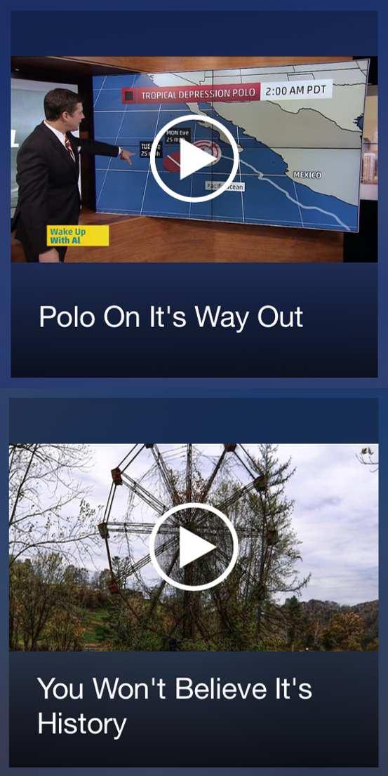 The Weather Channel Apostrophe Mishap