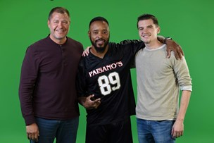 Tom Foster, Santana Moss, and Thomas Foster