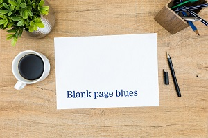Blank Page Blues