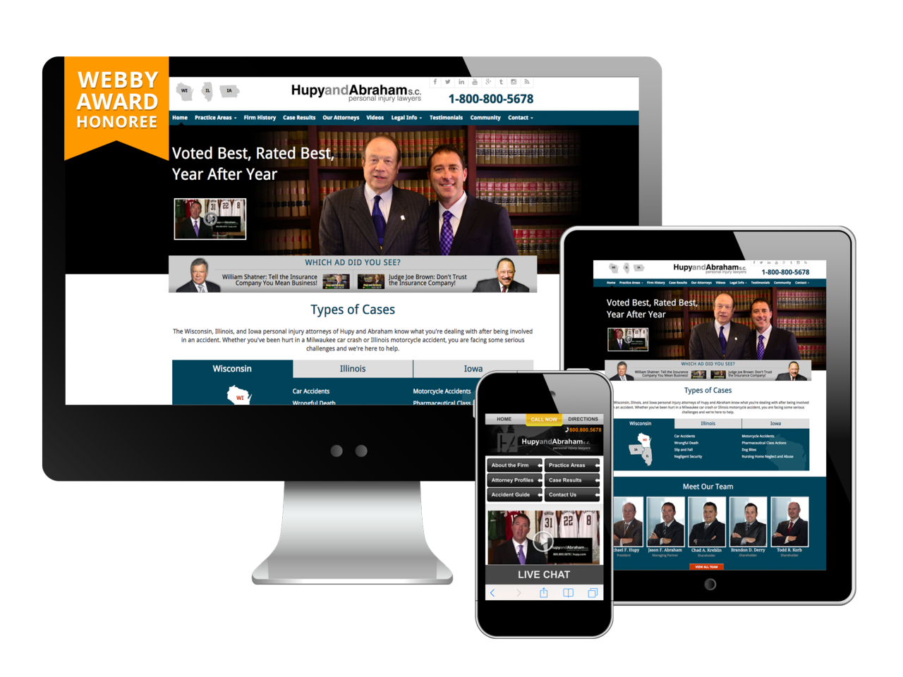 Law Firm Website Design Foster Web Marketing