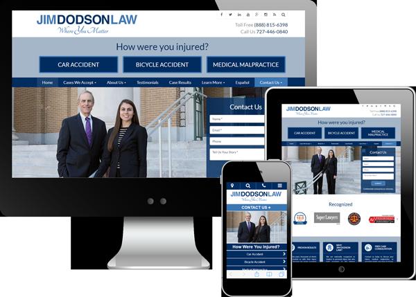 Jim Dodson Law Website Design
