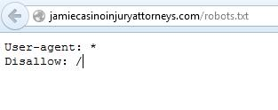 Robots.txt File Jamie Casino Law