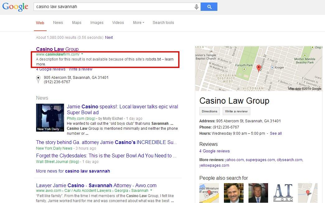 Jamie Casino Search Result