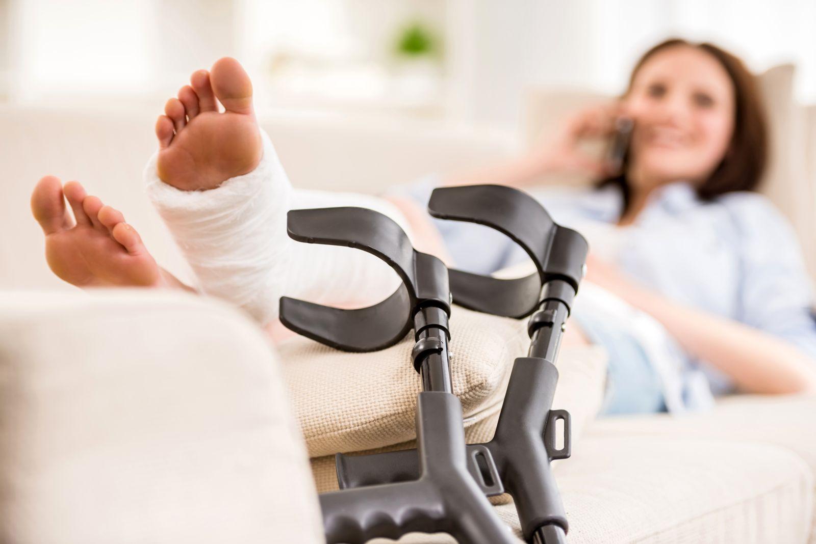 Healing a broken foot