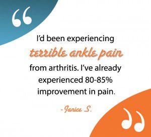 ankle pain testimonial