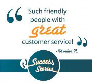 customer service testimonial