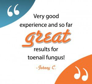 fungal toenail testimonial