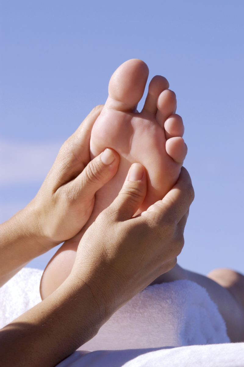 Flat feet, or flat arches, can be result of weak tendons.