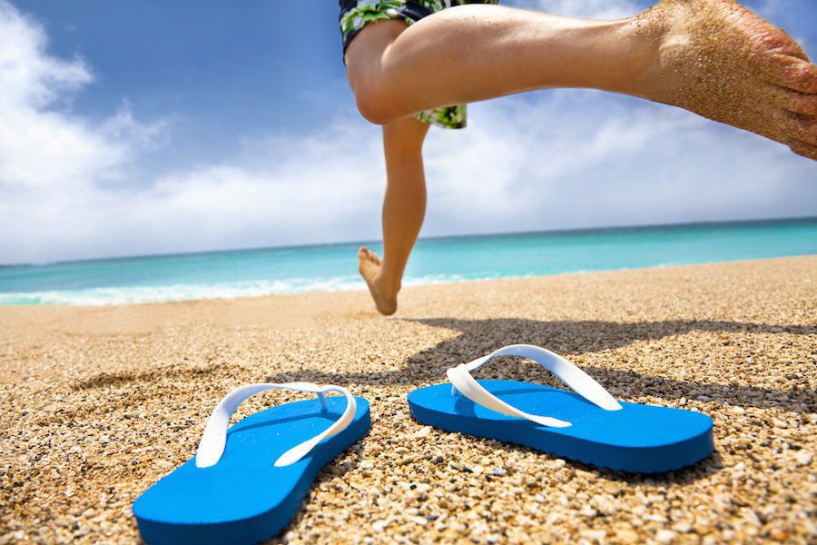 How flip flops increase heel pain