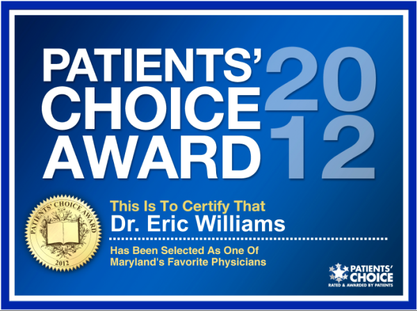 Patient's Choice 2012