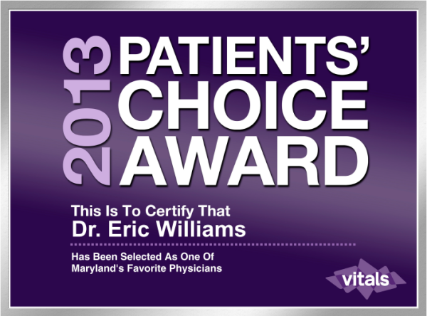 Vitals Patient's Choice 2013