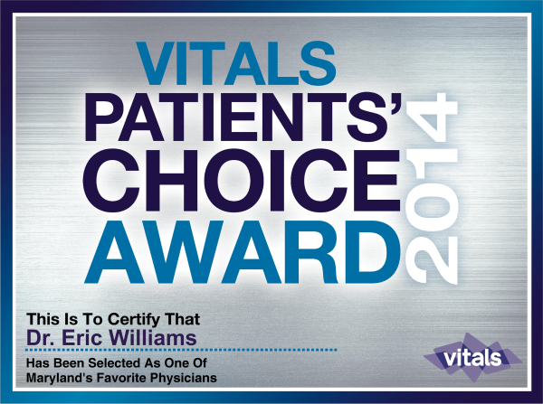 Vitals Patient's Choice 2014