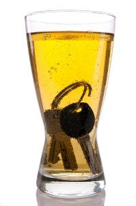 Car Keys in Beer Glass