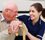 Full service senior and elder care team available.
