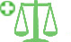 Civil litigation lawyers emblem