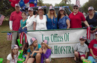 The DeLoach, Hofstra & Cavonis team at Seminole-Pow-Wow Parade