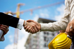 Florida real estate transaction hand shake